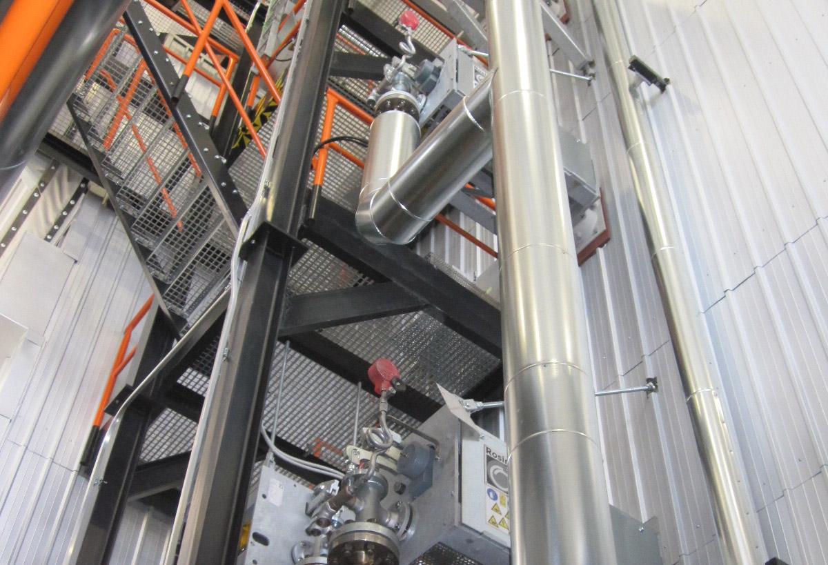 Rosink-Werkstätten: Scambiatore di calore
