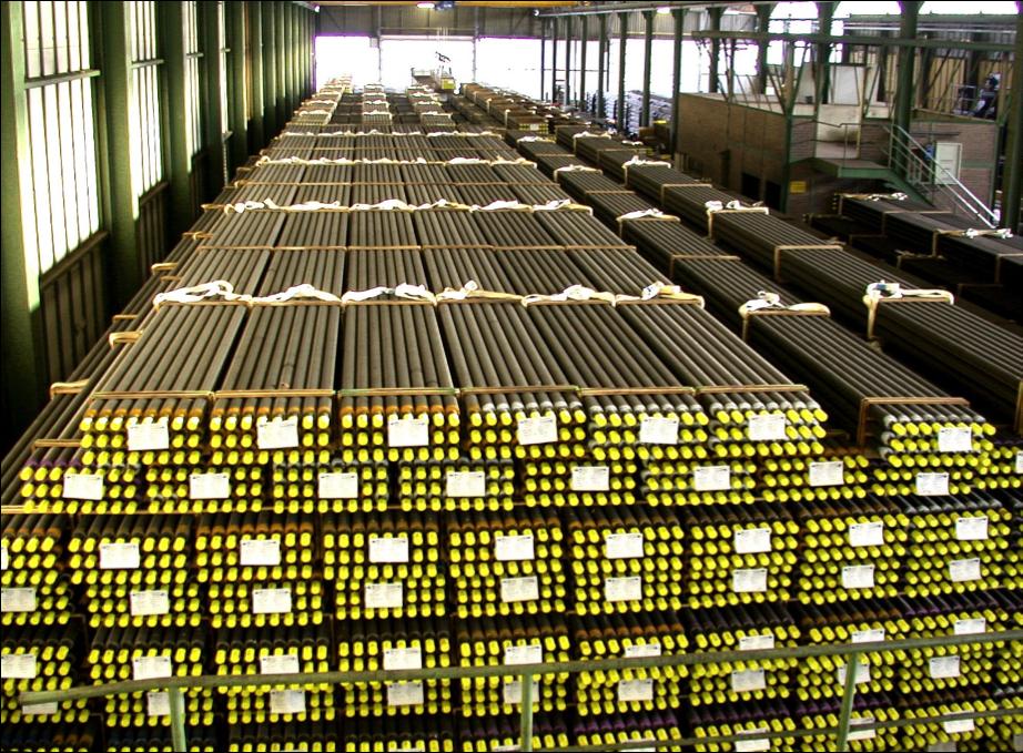 Rosink-Werkstätten: Tubi alettati